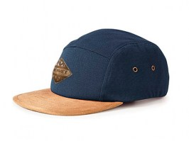 5 Panel - Suede Blue