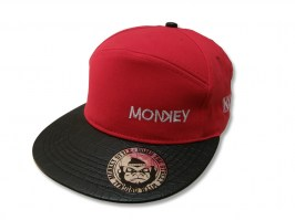 6Panel - Monkey Red