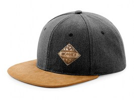 SnapBack - Denim Black